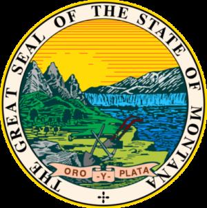 State of Montana seal logo