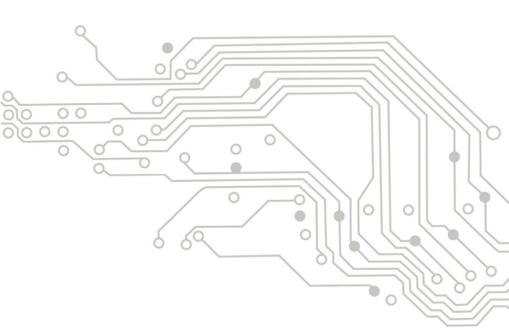 Circuit illustration representing Votem's reliable voting hardware